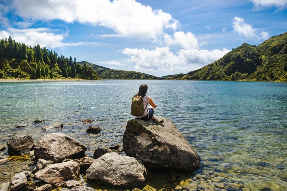 Ponta da Ferraria Açores Ilha de São Miguel