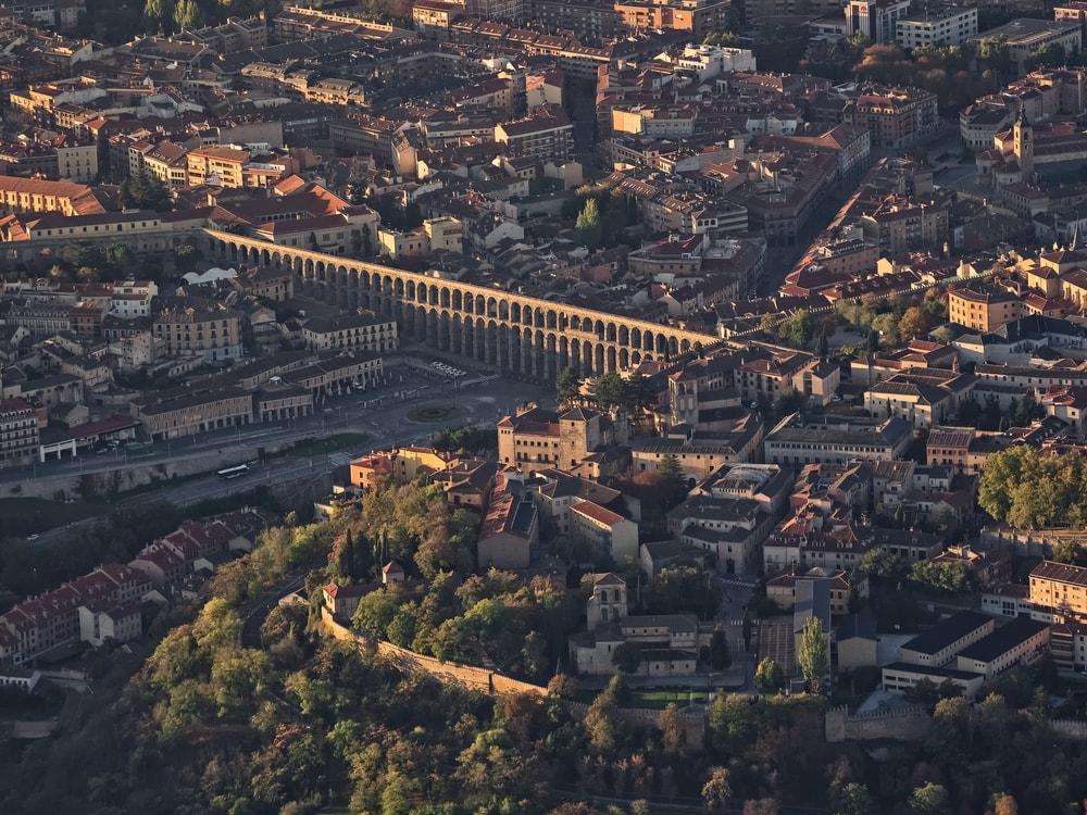 Balão de ar quente Segovia