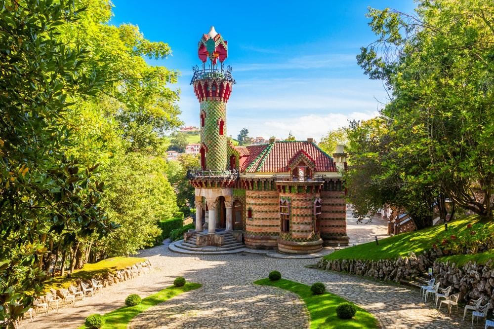 o capricho de Gaudi santander