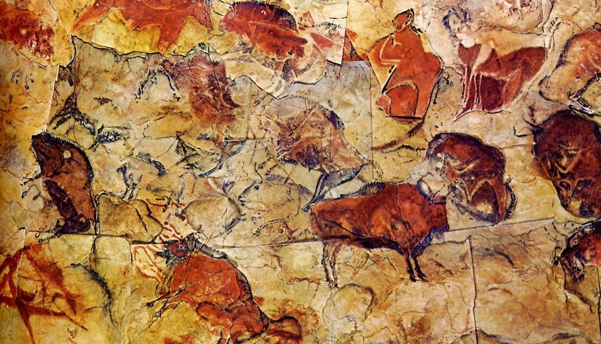 Pinturas rupestres da caverna de Altamira