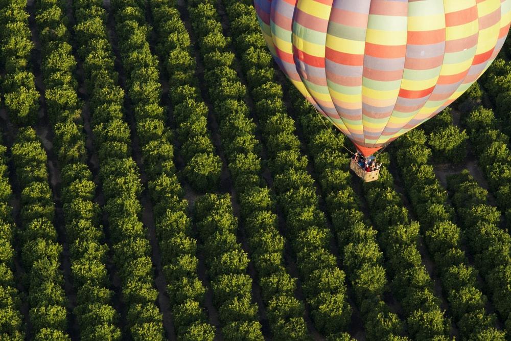 Voo em balão no Pais Basco