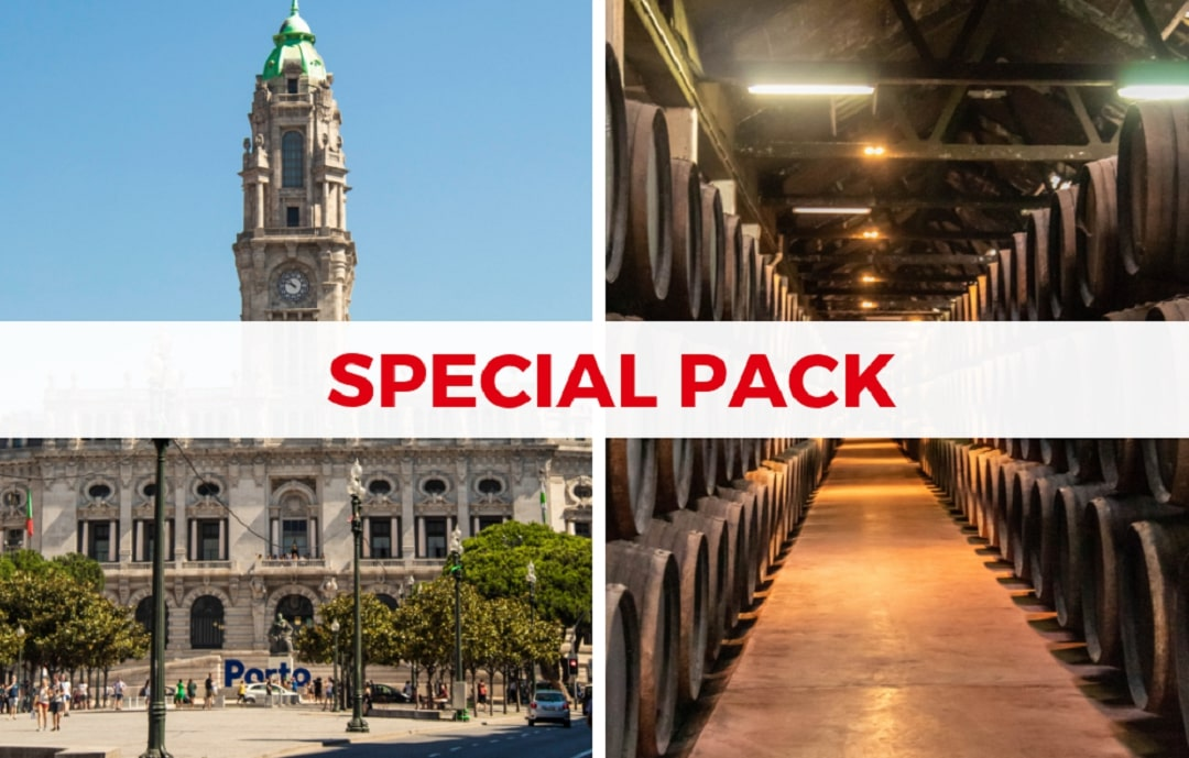 Porto Special Walking Tour Package with Visit to Porto Wine Cellar - Living Tours