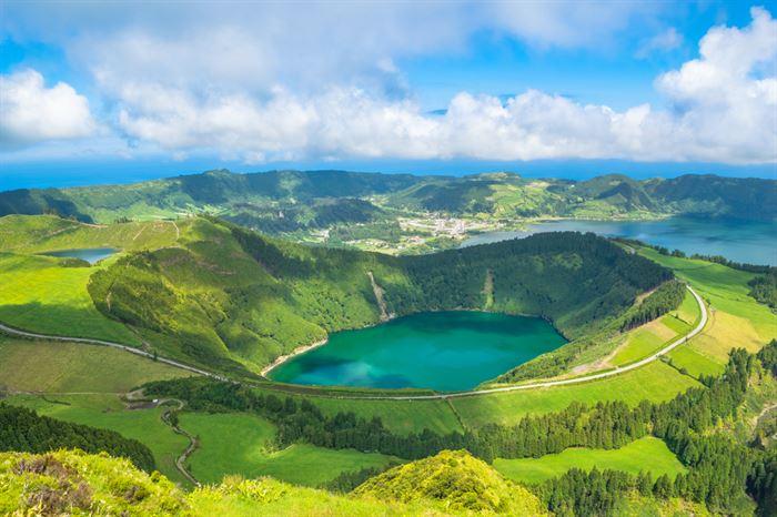 Lagoa de Santiago, Açores