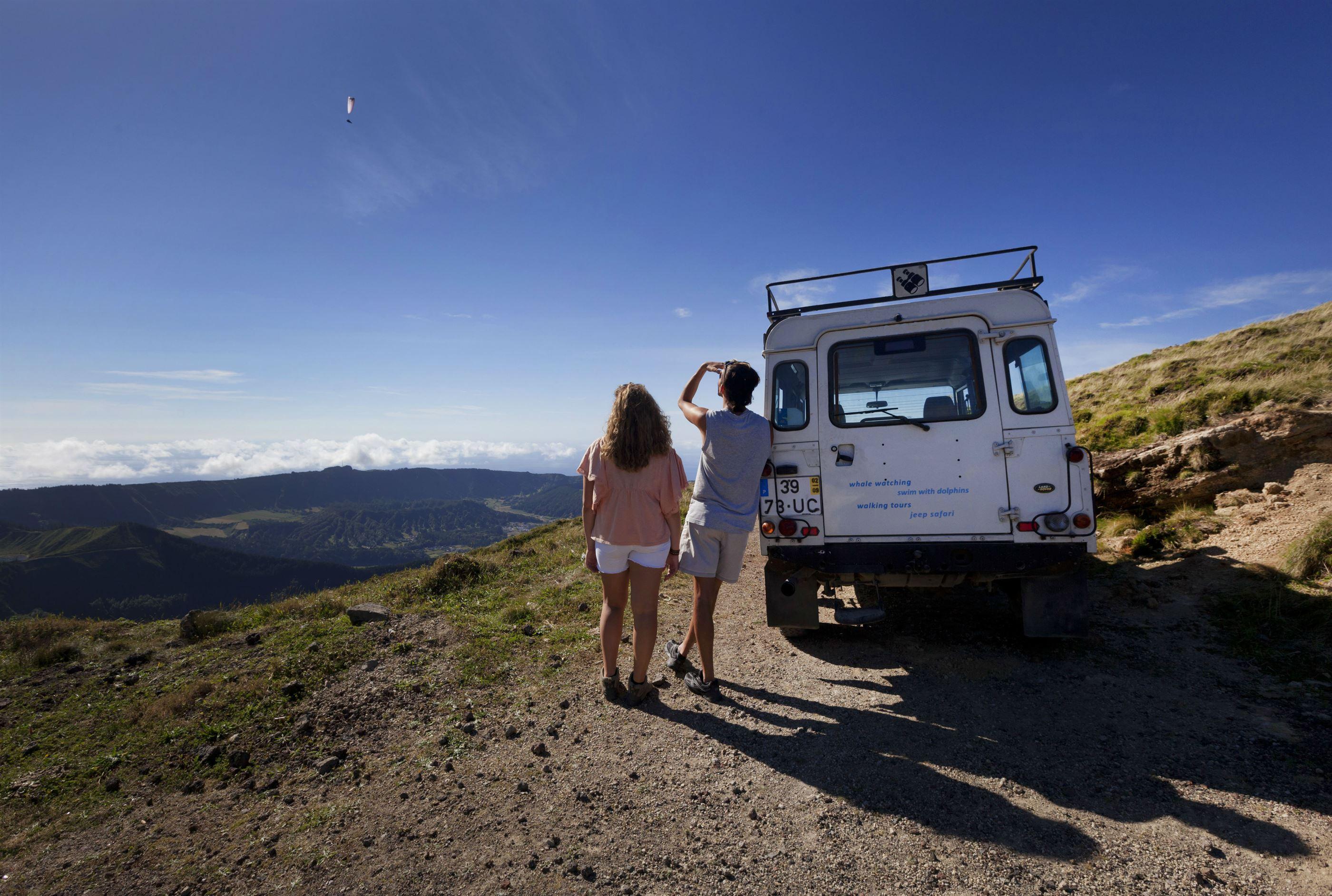 Azores Sao Miguel Island Jeep Trip