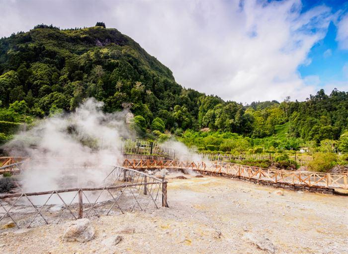 Furnas Fumarolas Açores, Sao Miguel
