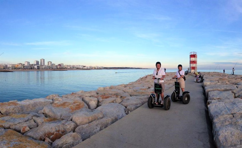 Segway ride in Vilamoura seafront