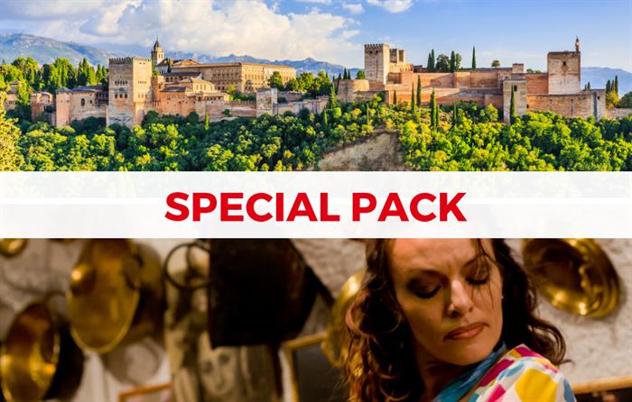 Alhambra e flamenco em Granada