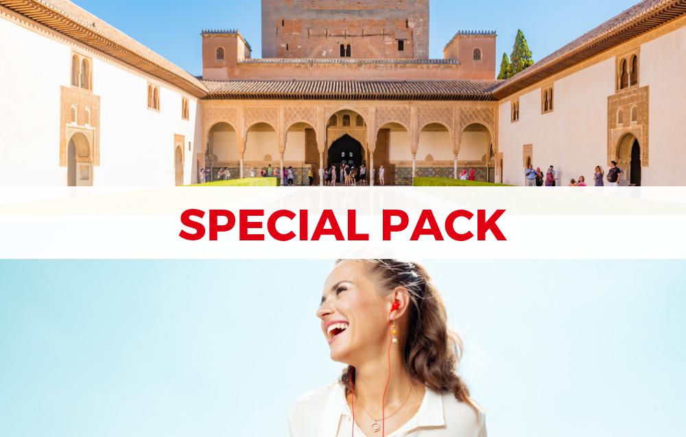 Audioguia Alhambra e Granada