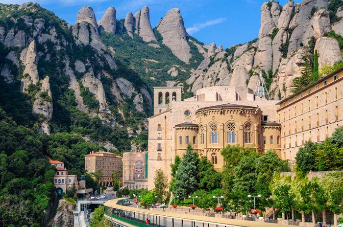 Montserrat Monastery  - Living Tours