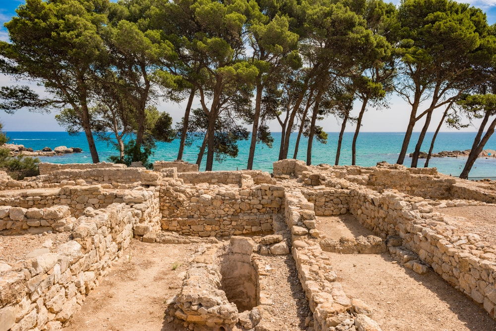 Costa Brava and Empuries ruins