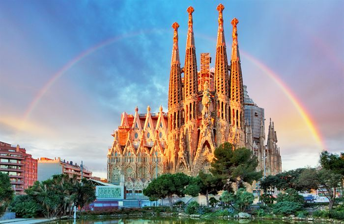 Sagrada Familia and Park Guell Pack