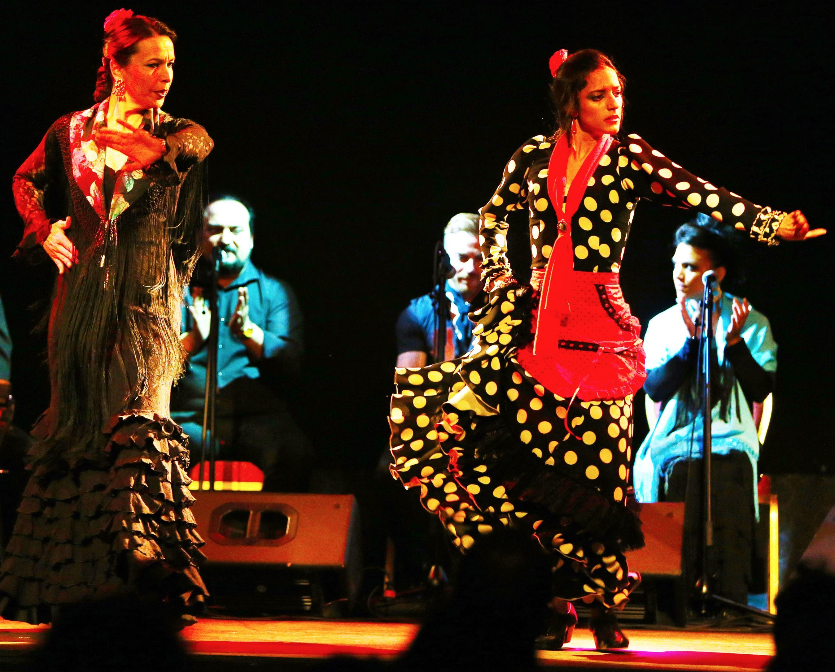 Flamenco in Las Ramblas