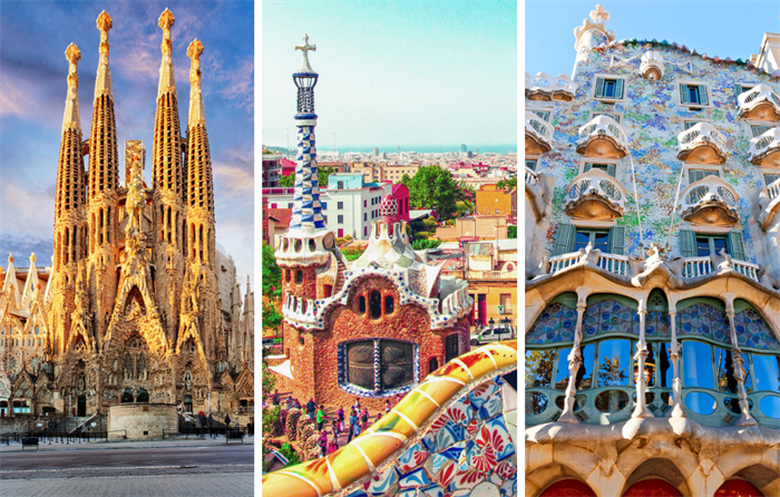 Sagrada Familia, Park Guell and Casa Batlló
