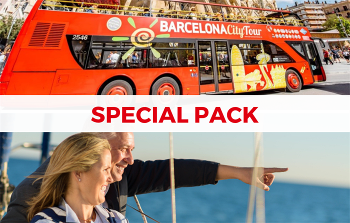 barcelona bus and boat tour