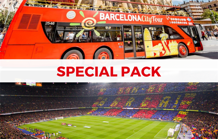 Tourist bus and Barcelona stadium package - Living Tours