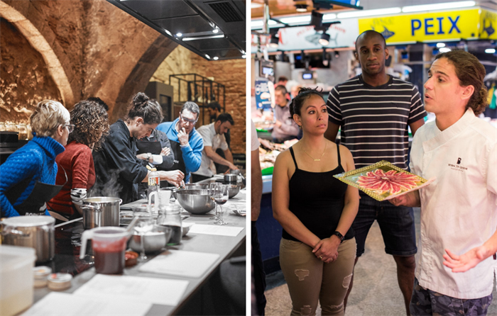 Cooking Class and Market Tour in Barcelona