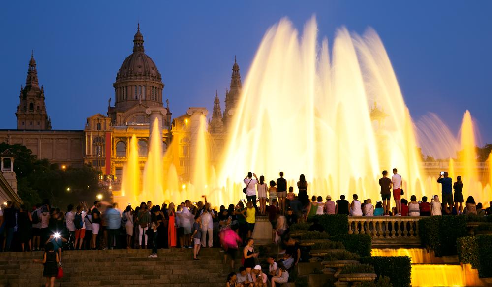 Fonte Mágica Noite Barcelona - Living Tours