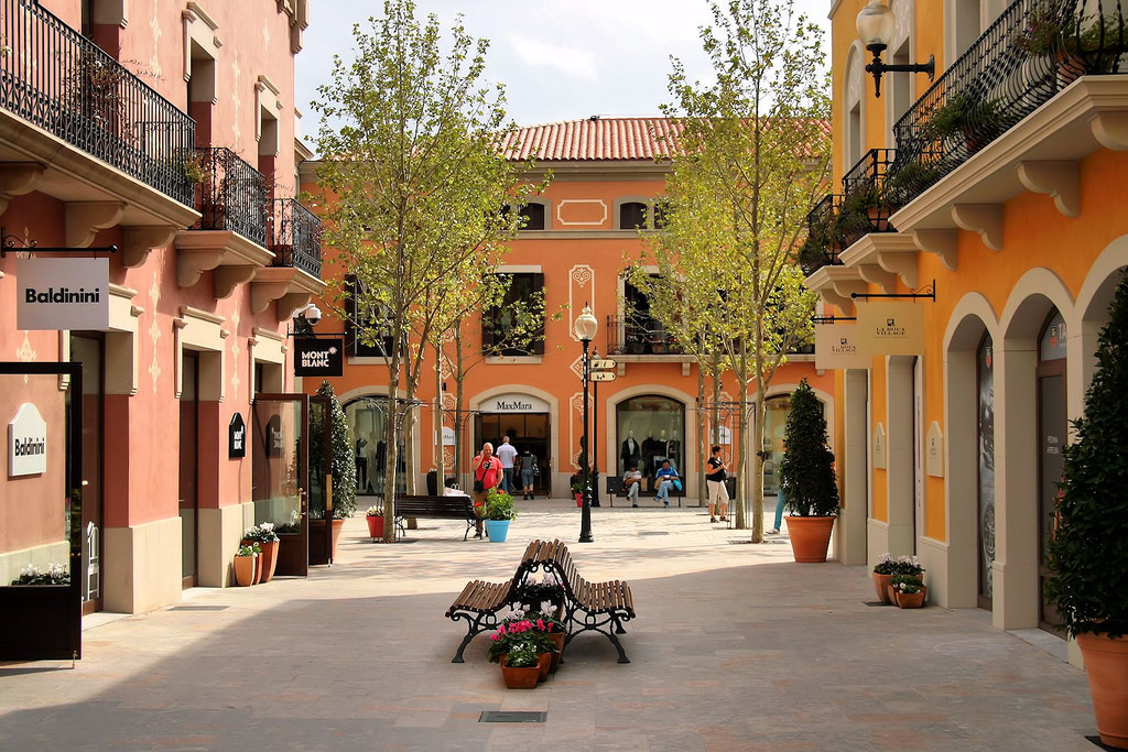 Shopping at La Roca Village - Prestigious Brands Outlet Barcelona