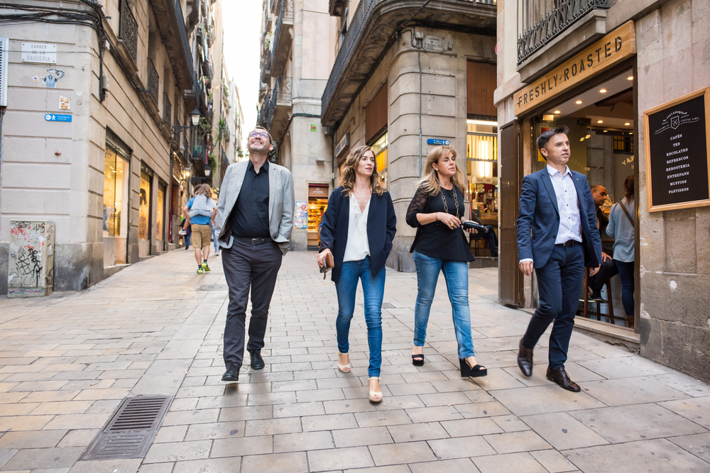 Private Barcelona walking tour