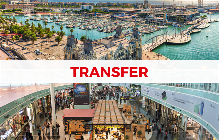 Barcelona Airport Transfer to Port