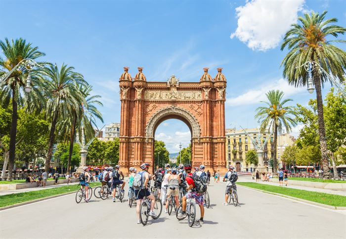 Bike Tour: Arc de Triomf