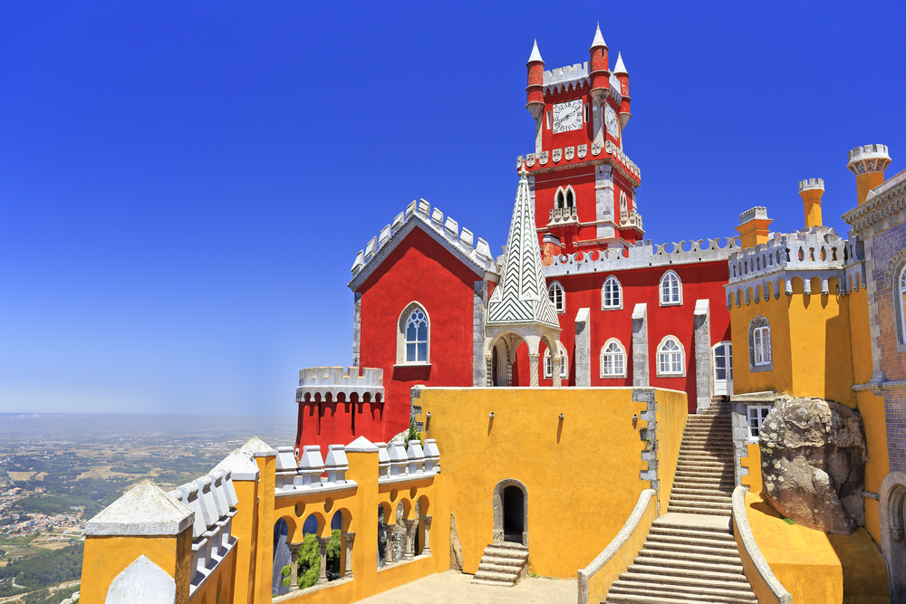 Visita a Sintra com entrada no Palácio da Pena