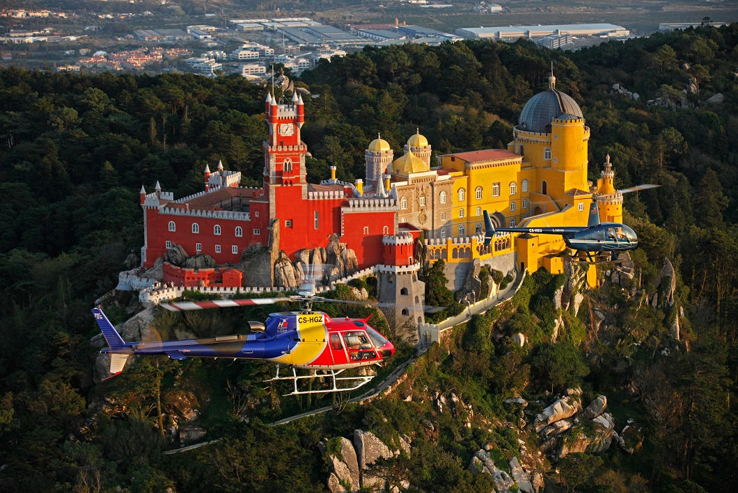 Sintra Helicopter from Lisbon - Living Tours