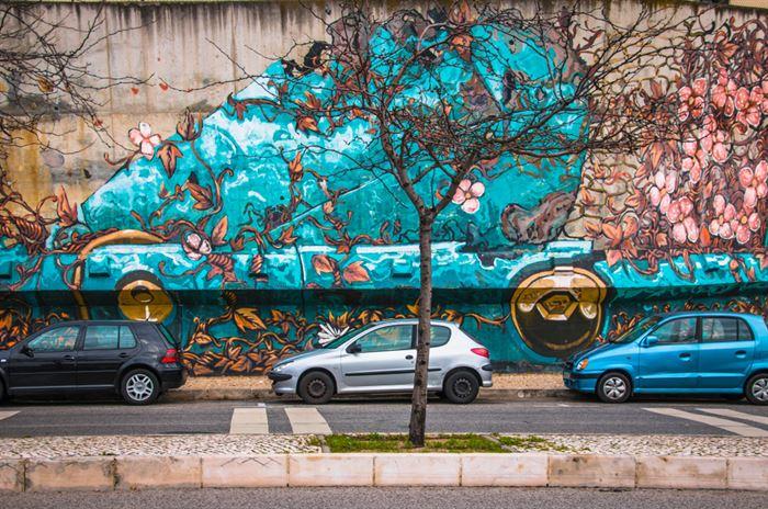 Buggy Lisbonne Art de Rue