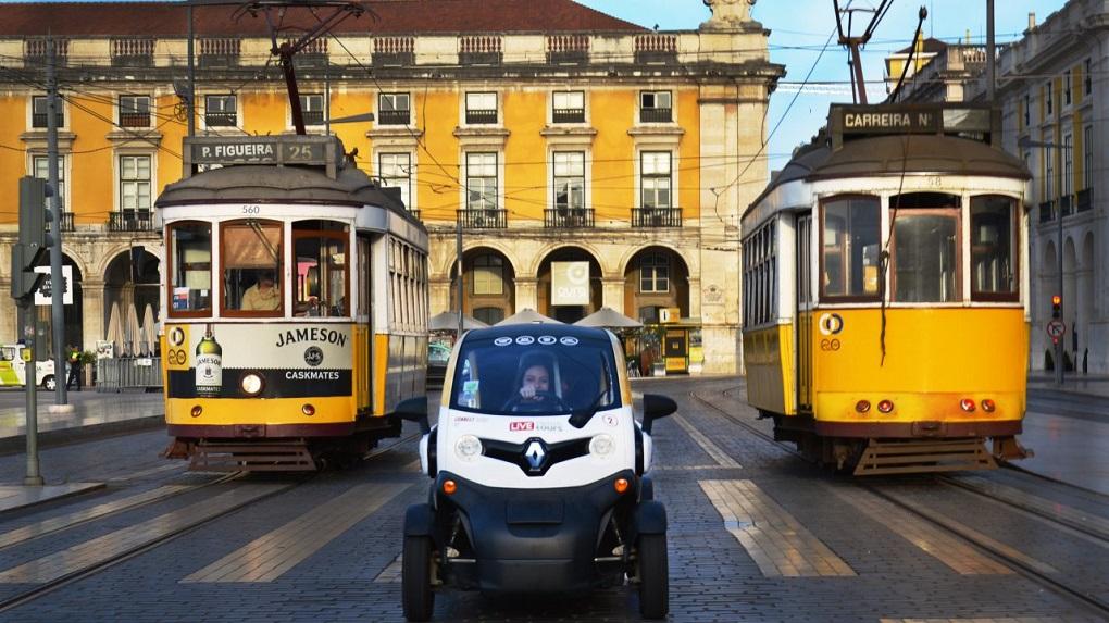 Miradouros de Lisboa de Twizy