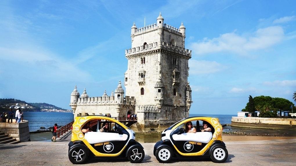 Lisbon Riverside by Twizy