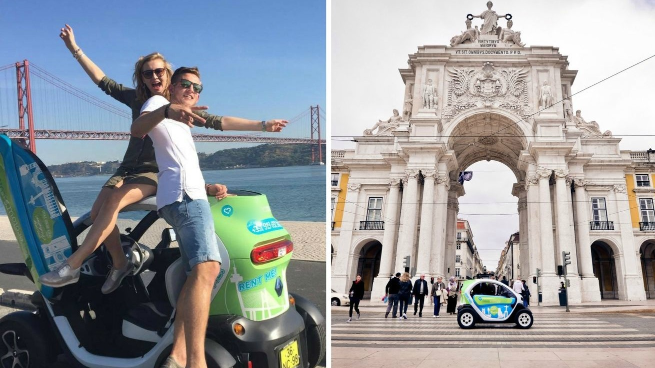 Discoveries Route in Twizy - Sightseeing Electric Car Lisbon