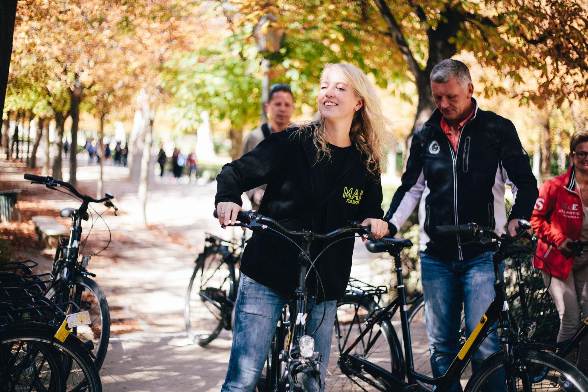 Passeio de Bicicleta em Madrid