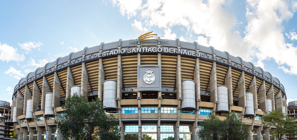 Bilhete Estádio Santiago Bernabeu