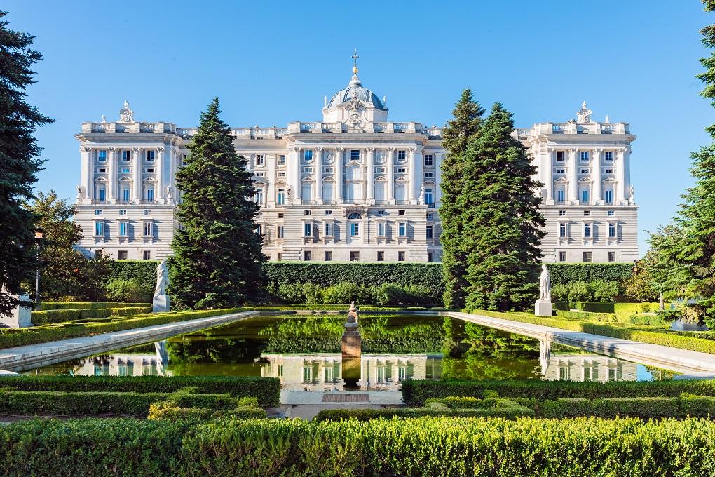 Entrance Royal Palace Madrid