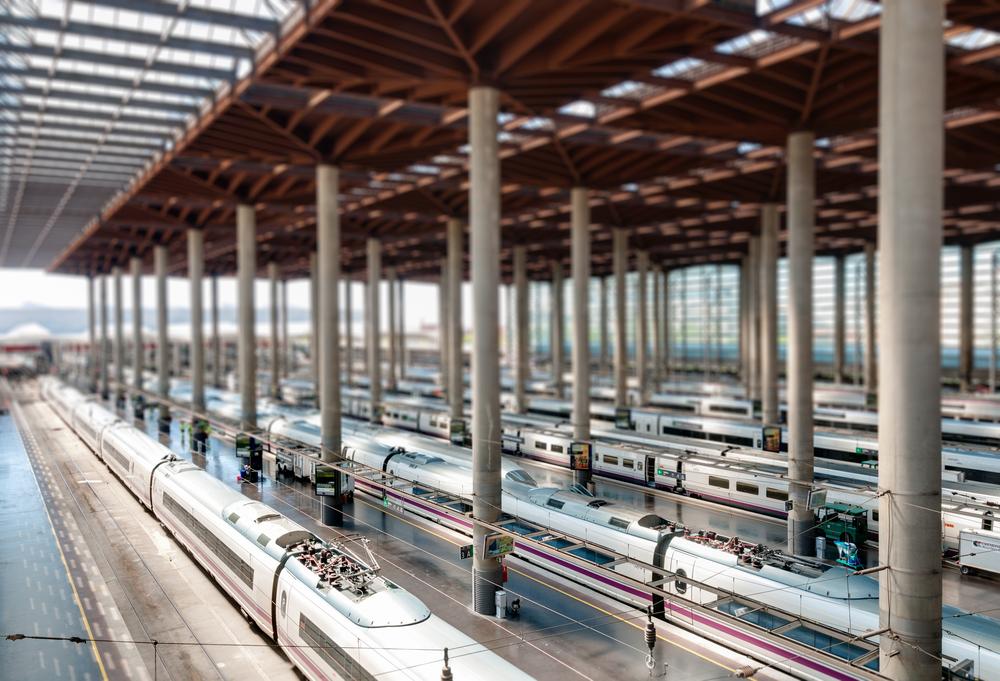 Transfer to Madrid Train Station