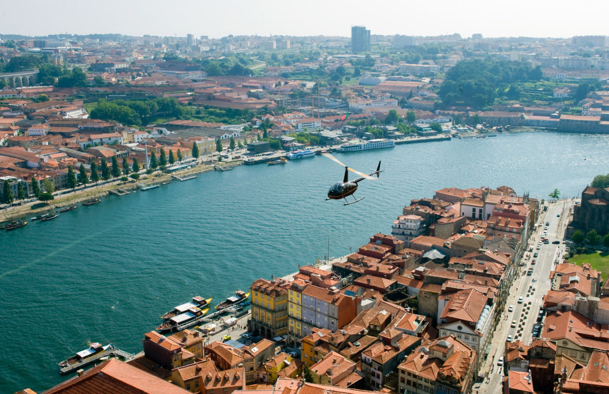 Sky Experience in Porto - Living Tours