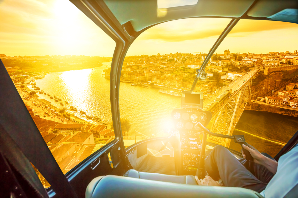 Air, Water and Land Experience in Porto - Living Tours