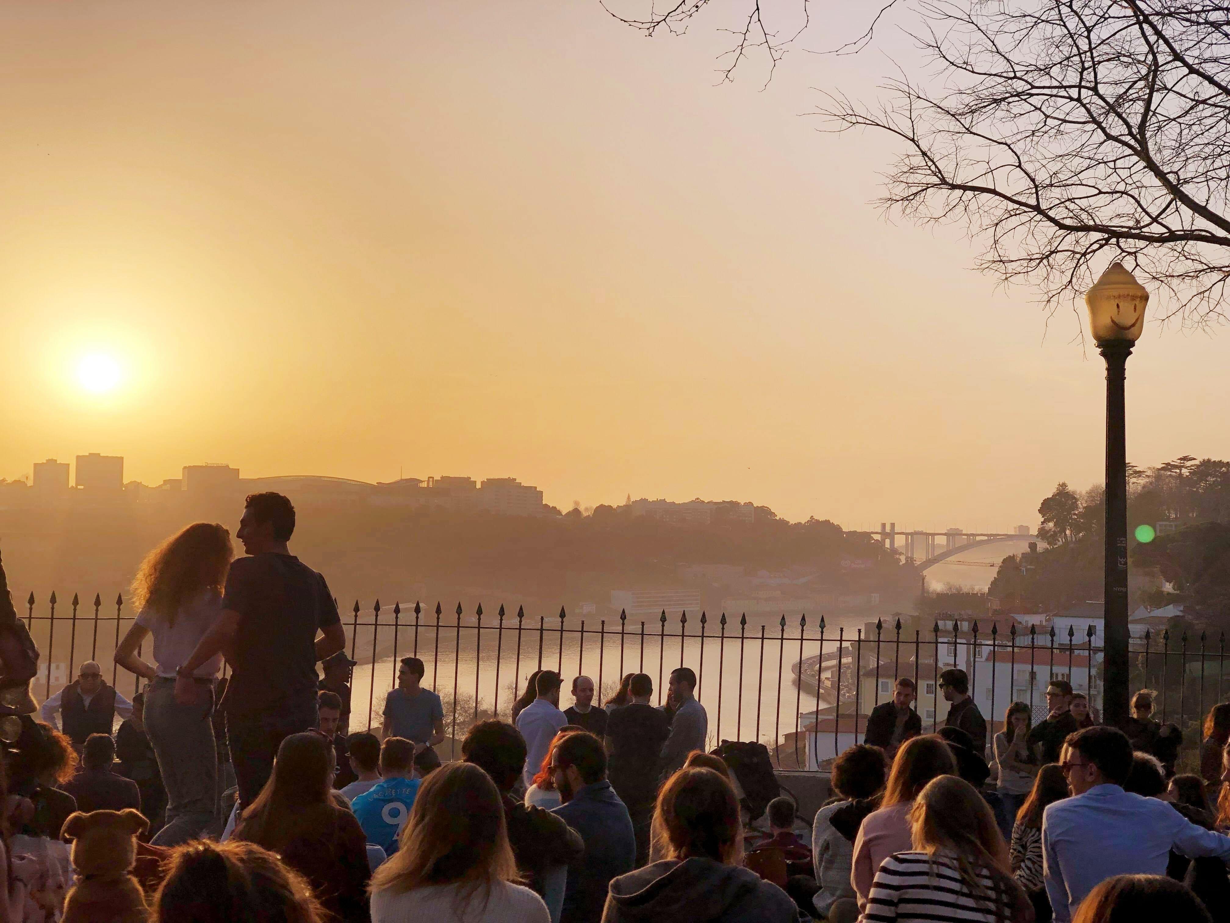 Pôr do Sol Porto
