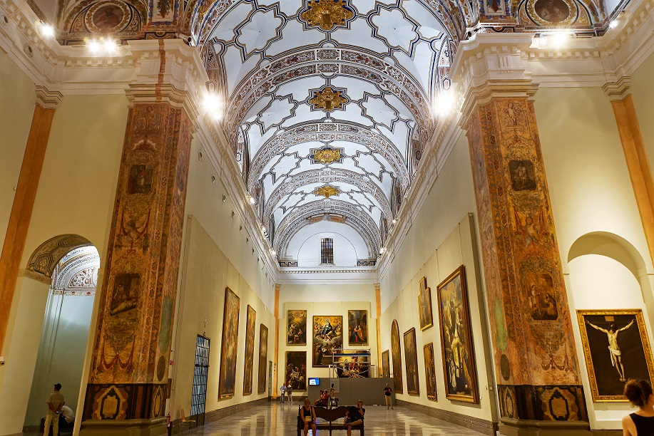 Interior do Museu de Belas Artes