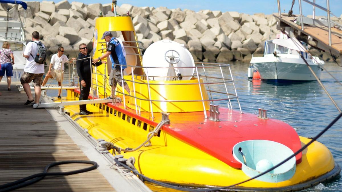 Experiência de Mergulho de Submarino em Tenerife - Living Tours