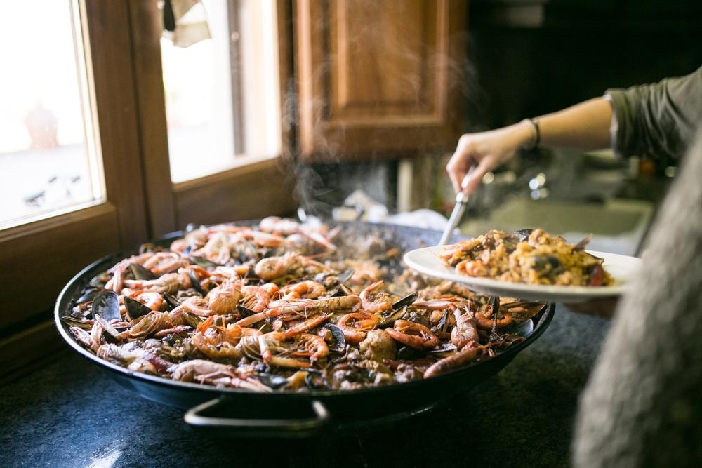 Valencia aula de cozinha paella